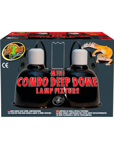 Mini Combo Deep Dome Lamp Fixture Zoo Med