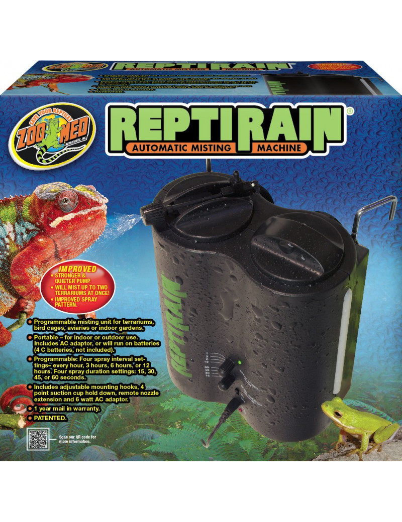 ReptiRain Automatic Misting Machine Zoo Med