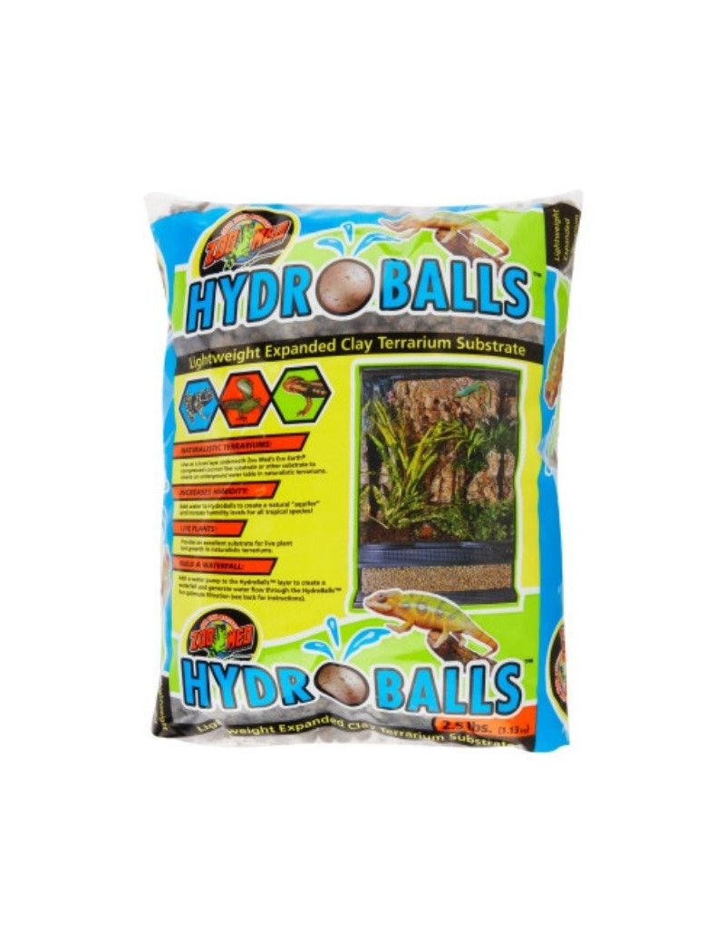 HydroBalls Lightweight Expanded Clay Terrarium Substrate Zoo Med
