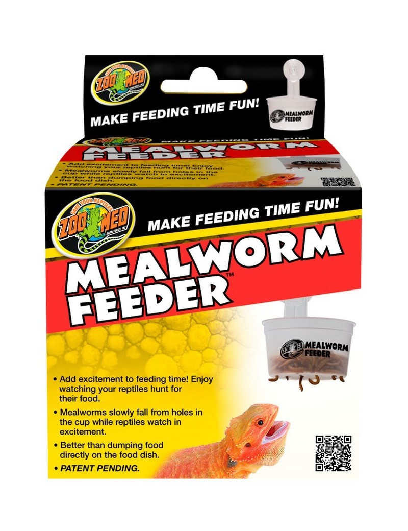 Mealworm Feeder Zoo Med