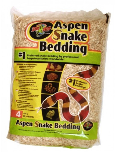 Aspen Snake Bedding Zoo Med
