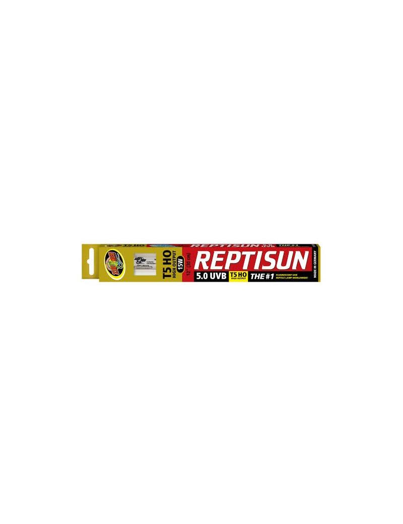 ReptiSun 5.0 T5HO UVB Zoo Med (60cm et moins)