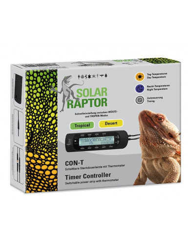 Thermostat Timer Controller CON-T Solar Raptor