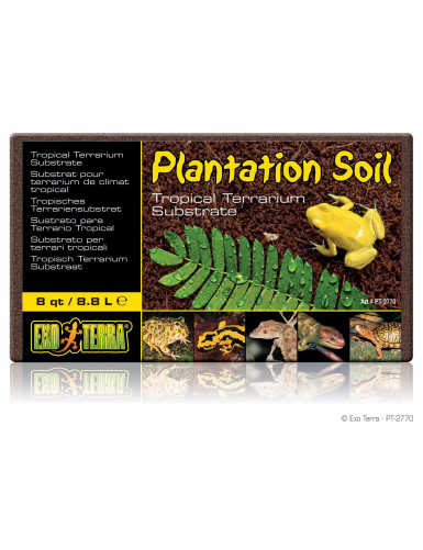 Plantation soil Exo Terra